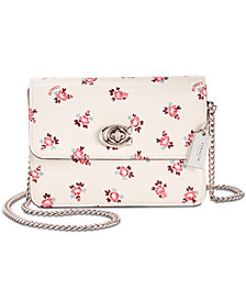 COACH Bowery Crossbody with Floral Bloom