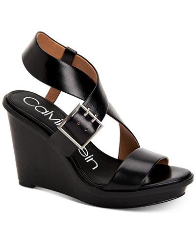 Calvin Klein Women's Palma Wedge Sandals