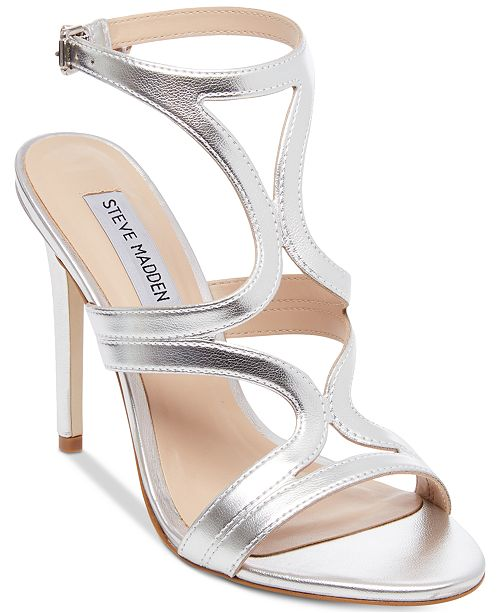 84f0edab1cd Steve Madden Women's Sidney Dress Sandals & Reviews - Sandals & Flip ...