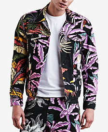Levi's Men's Denim Aloha Island Trucker Jacket