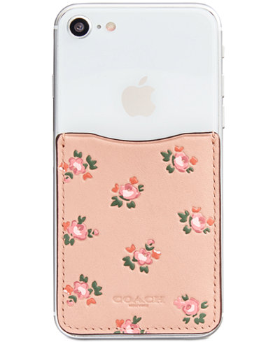 COACH Boxed Pocket Sticker with Floral Boom Print