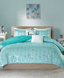 Intelligent Design Raina 4-Pc. Twin/Twin XL Comforter Set