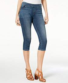 Lee Platinum Harmony Pull-On Capri Jeans