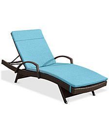 Hayden Outdoor Chaise Lounge (Set Of 2), Quick Ship