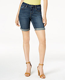 Earl Jeans Denim Bermuda Shorts