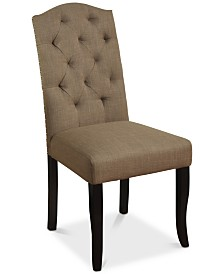 Curvell Dining Chair, Quick Ship