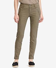 Lauren Ralph Lauren Twill Skinny Cargo Pants
