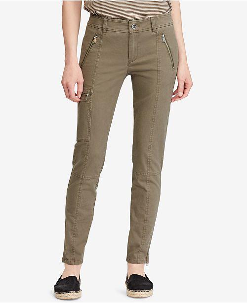 cd6769bdb23ad Lauren Ralph Lauren Twill Skinny Cargo Pants   Reviews - Pants ...