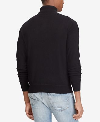 Polo Ralph Lauren Mens Half Zip Cashmere Sweater Sweaters Men