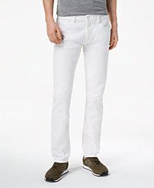A|X Armani Exchange Men's Slim Straight Fit Stretch Jeans