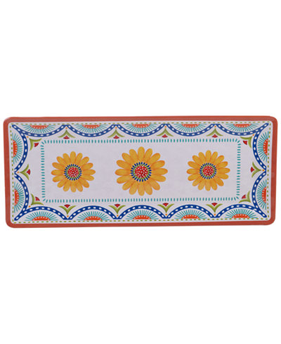 Certified International Vera Cruz Melamine Rectangular Platter