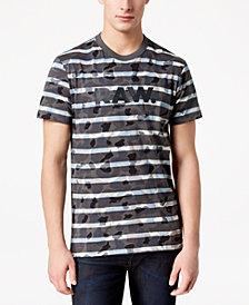 G-Star Men's Swando Camo-Stripe T-Shirt, Created for Macy's