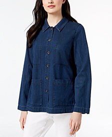 Eileen Fisher Denim Jacket