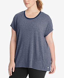 Champion Plus Size Gym Issue Mesh-Inset T-Shirt