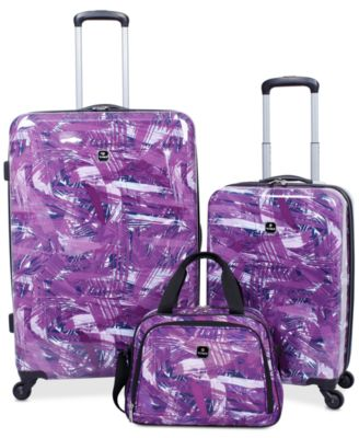 Pop Art 3-Pc. Hardside Spinner  Luggage Set, Created for Macy's