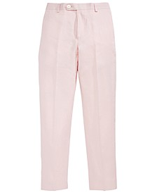 Pink Linen Pants, Big Boys