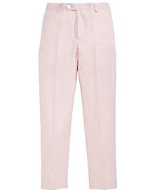Pink Linen Pants, Big Boys