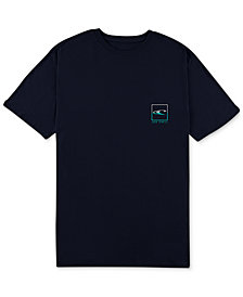 O'Neill Men's Split Logo-Print T-Shirt