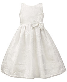 Jayne Copeland Floral Overlay Dress, Little Girls
