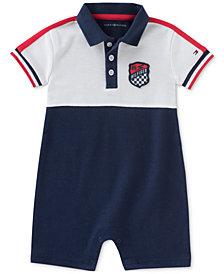 Tommy Hilfiger Logo-Print Romper, Baby Boys