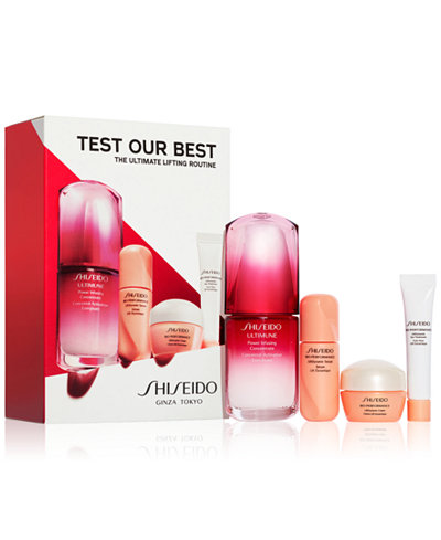 Shiseido 4-Pc. The Ultimate Lifting Routine Set