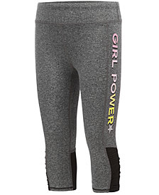 Ideology Girl Power Capri Leggings, Little Girls, Created for Macy's