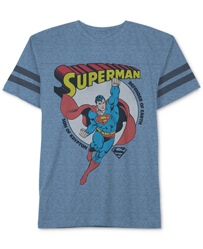 Superman Graphic-Print T-Shirt, Big Boys