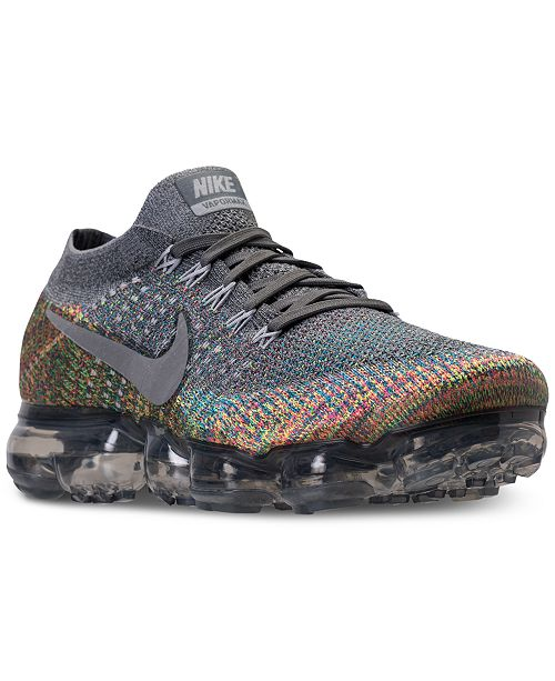 5e4ed8abf1a0 Nike Men s Air VaporMax Flyknit Running Sneakers from Finish Line ...
