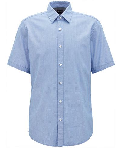 BOSS Men's Regular/Classic-Fit Sport Shirt