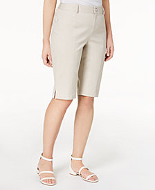 I.N.C. Bermuda Walker Shorts, Created for Macy's