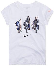Nike Maxsicle 3-Graphic Cotton T-Shirt, Little Girls