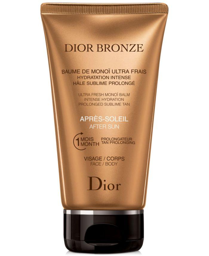 Dior Dior Bronze After Sun Ultra Fresh Monoï Balm & Reviews - Skin Care - Beauty - Macy's