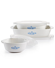 Corningware Cornflower 6-Pc. Set