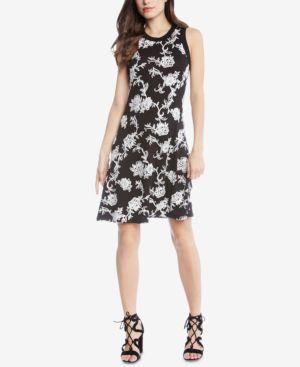 Karen Kane Embroidered A-Line Dress 5954290
