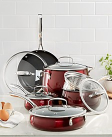 Aluminum 11-Pc. Cookware Set, Created for Macy's