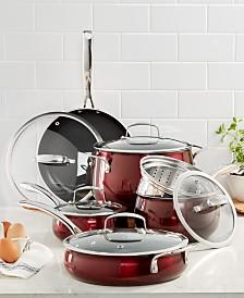 Belgique Aluminum 11-Pc. Cookware Set, Created for Macy's