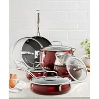Belgique Aluminum 11-Pc. Cookware Set Deals