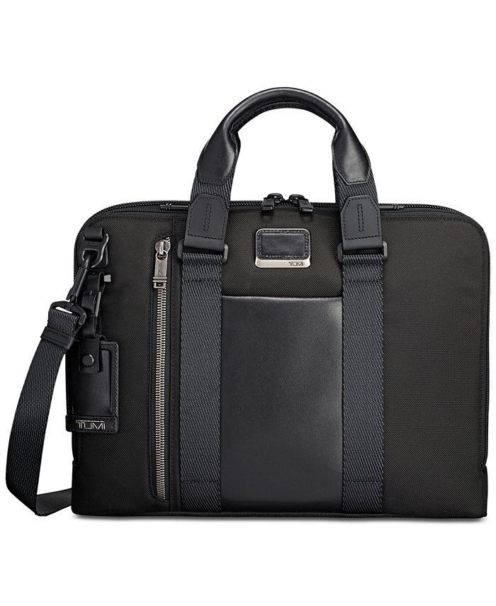 TUMI - Men's Alpha Bravo Aviano Slim Briefcase