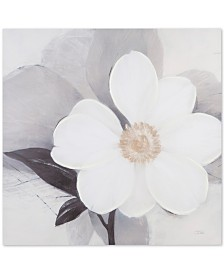 """Madison Park Midday Bloom 30"""" x 30"""" Hand-Embellished Canvas Print"""
