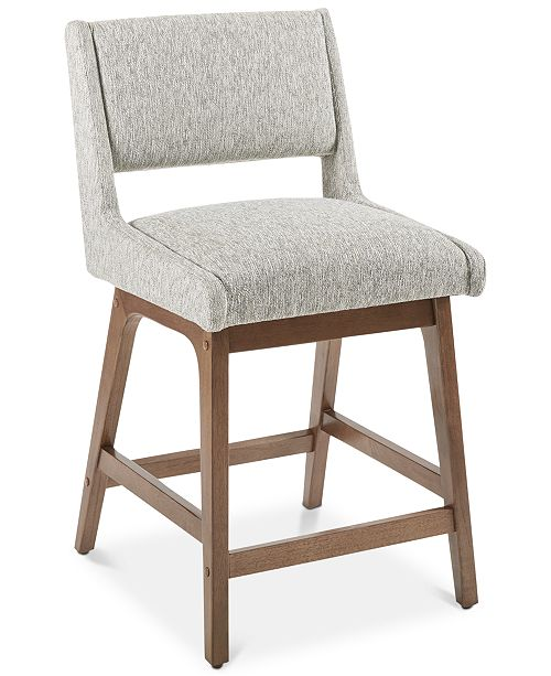 INK+IVY Brine Counter Stool, Quick Ship
