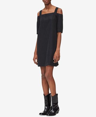 Calvin Klein Jeans Cold-Shoulder Dress