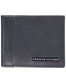 Tommy Hilfiger Men's Cambridge Leather Passcase