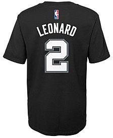 Nike Kawhi Leonard San Antonio Spurs Replica Name & Number T-Shirt, Little Boys (4-7)