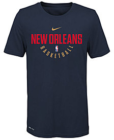 Nike New Orleans Pelicans Elite Practice T-Shirt, Big Boys (8-20)