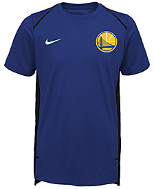 Nike Golden State Warriors Hyper Elite Shooter T-Shirt, Big Boys (8-20)