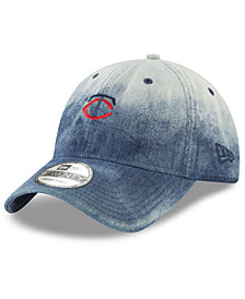 New Era Minnesota Twins Denim Wash Out 9TWENTY Cap