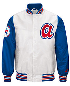 G-III Men's Sports Atlanta Braves The Legend Starter Jacket