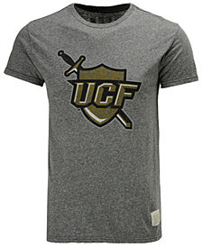 Retro Brand Men's University of Central Florida Knights Retro Logo Tri-Blend T-Shirt