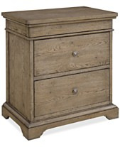 891a7017c5848 Martha Stewart Collection Bergen 3-Drawer Nightstand