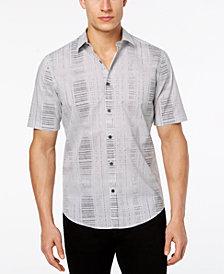 Alfani Men's Geometric Abstract Print Shirt, Created for Macy's